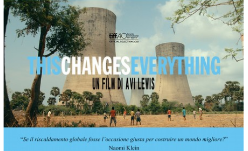 "Film ""ThisChangeEverything"" – 18 dicembre 2016"
