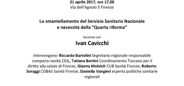 "Lo smantellamento del Servizio Sanitario Nazionale <span class=""dashicons dashicons-calendar""></span>"