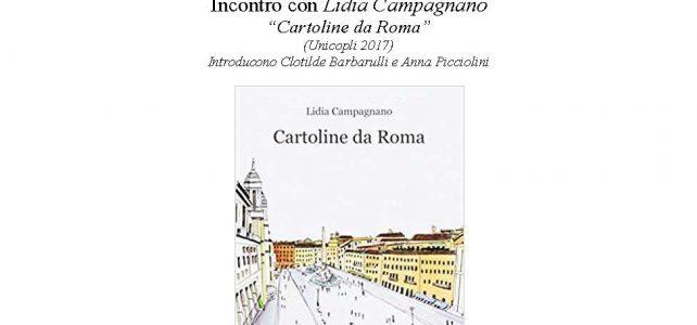 """Incontro con Lidia Campagnano """"Cartoline da Roma"""" <span class=""""dashicons dashicons-calendar""""></span>"""