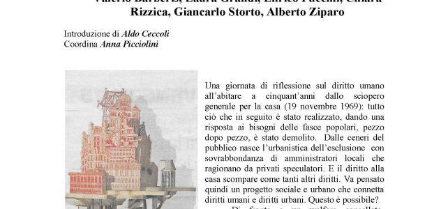 """La casa un diritto umano <span class=""""dashicons dashicons-calendar""""></span>"""