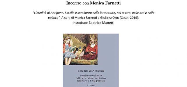 """Incontro con Monica Farnetti <span class=""""dashicons dashicons-calendar""""></span>"""