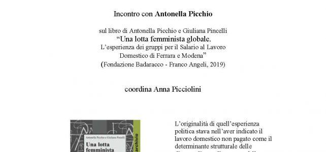 """Incontro con Antonella Picchio <span class=""""dashicons dashicons-calendar""""></span>"""