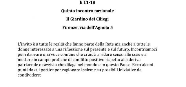 "Rete femminista No muri No recinti <span class=""dashicons dashicons-calendar""></span>"