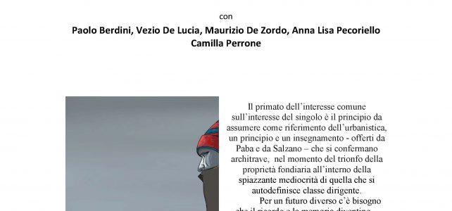 """Una riflessione su Giancarlo Paba e Edoardo Salzano <span class=""""dashicons dashicons-calendar""""></span>"""