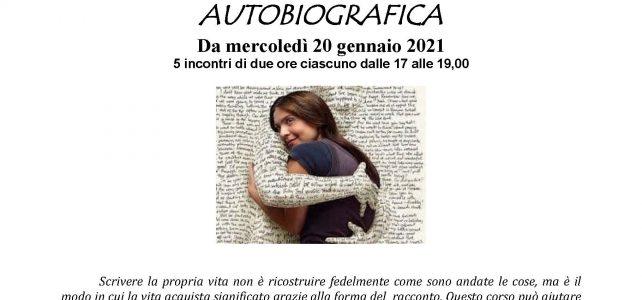 """Corso di scrittura autobiografica-on line <span class=""""dashicons dashicons-calendar""""></span>"""