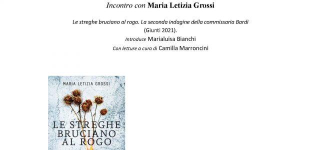 """Incontro con Maria Letizia Grossi <span class=""""dashicons dashicons-calendar""""></span>"""